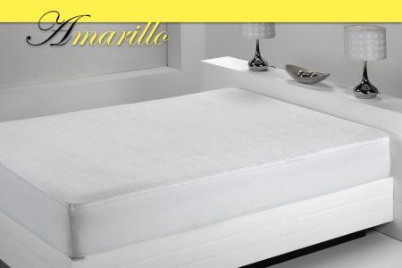 Amarillo – Protector Rizo 100% Algodón 160 gramos